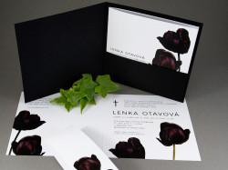 Parte Černé tulipány s obálkou