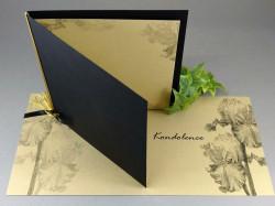 Kondolence Iris s obálkou