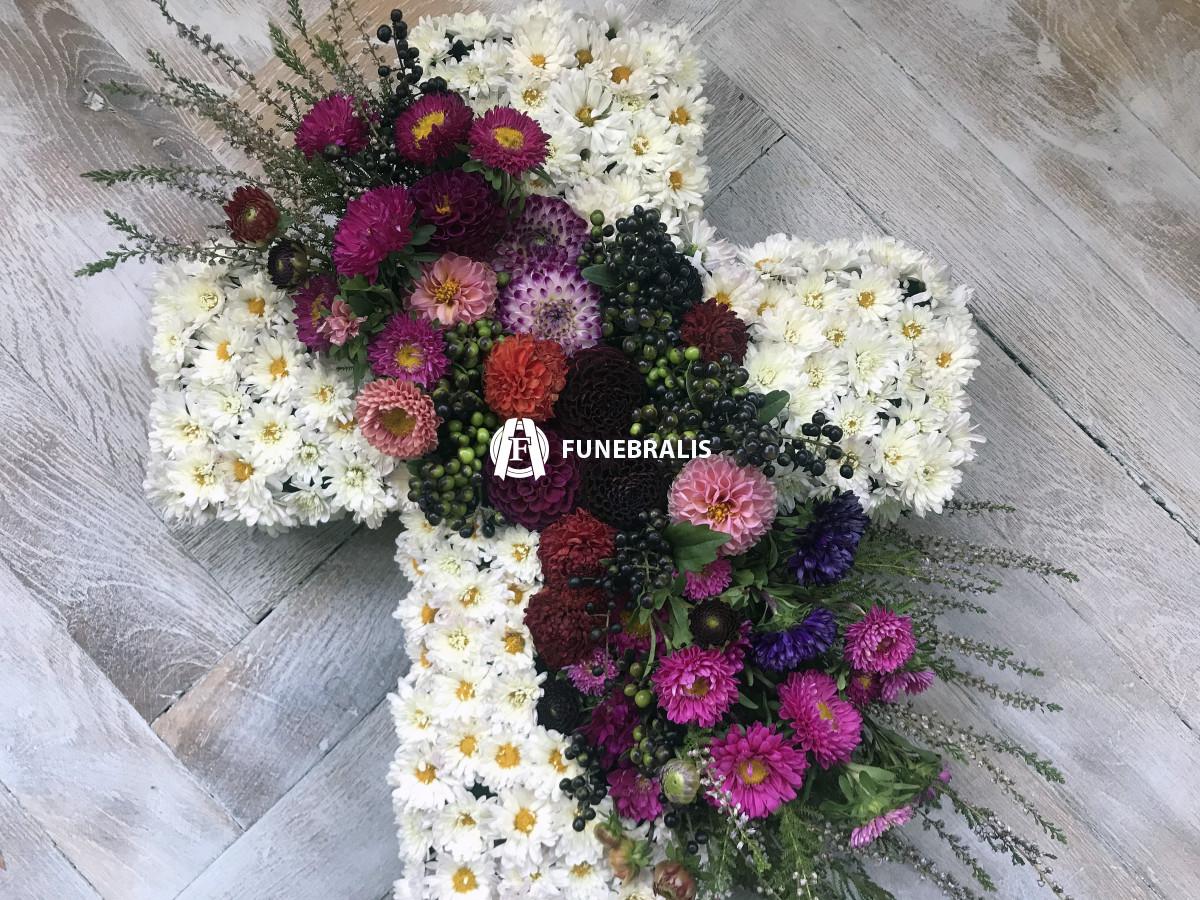 Kříž Diviš - detail